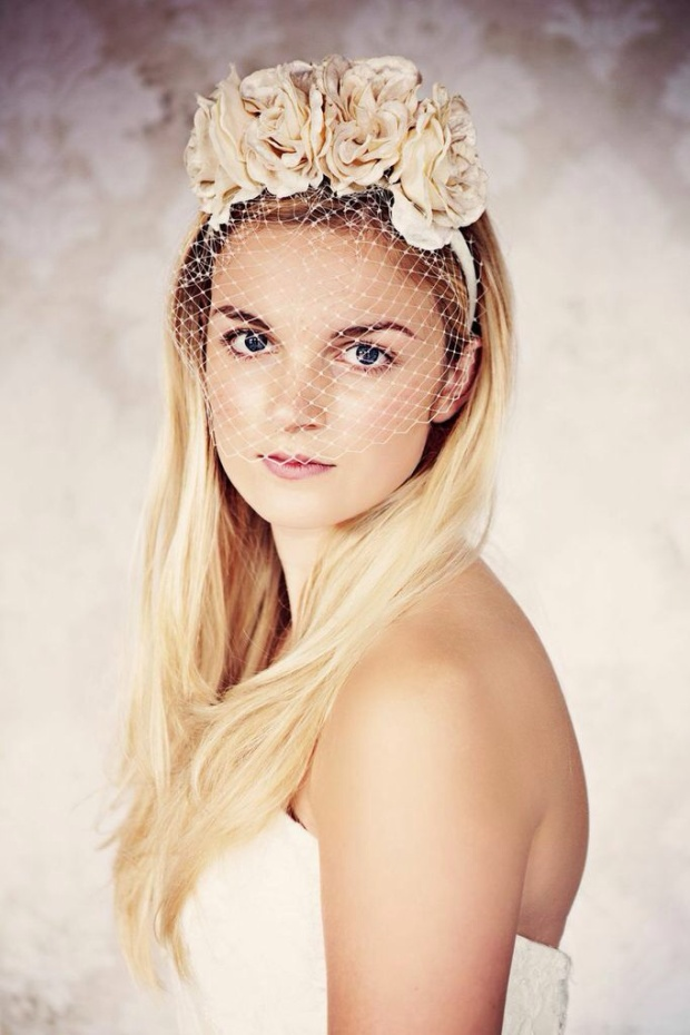 Photography - Teresa C Photography. Model - Sarah Coleman. Headwear - Gypsy Rose Vintage